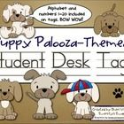 Puppies are popular with kids, and these fun student desk tags will look great in your dog themed classroom. There are five different puppy design ...