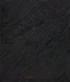 Available for sale from Galleria Fumagalli, Anne and Patrick Poirier, Mésopotamie (2016), Acrylic, oil, polystyrene, polyurethane, 132 × 145 cm