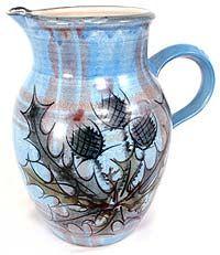 Medium Jug Glenaldie - Tain pottery Scotland