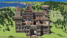 steampunk minecraft tower - Google Search