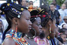Concurso de Peinados Afro en Cali 2013