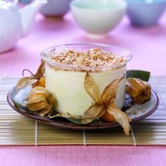 Rice Pudding with Coconut