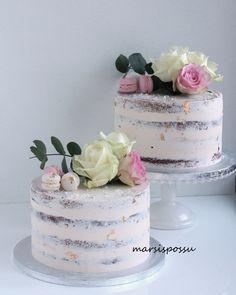 40th Birthday Decorations, Wedding Cake Decorations, Wedding Cakes, Birthday Ideas, Bolo Floral, Confirmation Cakes, Creative Cakes, Beautiful Cakes, Vanilla Cake