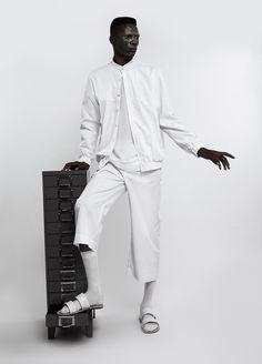 #Menswear #Trends Lukhanyo Mdingi Fall Winter 2015 Otoño Invierno #Tendencias #Moda Hombre   F.Y!