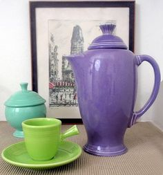 What do you think of the Lilac Fiesta Coffee Server?