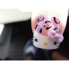 hello kitty - nails