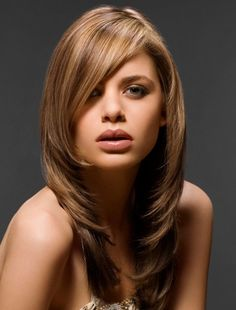 Long Feathery Layers | So, look stylish and trendy with the haircuts that are in this year.