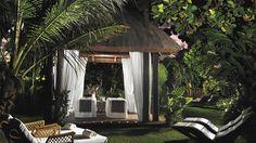 Abama Golf & Spa Resort - Spa Garden at sunset