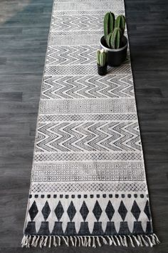 Scandi Runner from Rockett St George Floor Rugs, Home Decor Accessories, Decorative Accessories, Hallway Inspiration, Rugs On Carpet, Nordic Design, Rugs, Runner Rug Entryway, Rug Runner Hallway