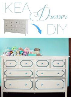 IKEA Hemnes Dresser DIY!