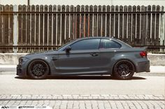 """BMW by As one of the """"purest"""" modern-day. - BMW by one of the """"purest"""" modern-day BMWs, the serves as proof that you don't need a lot of power or a great deal of exterior mods to put together an awesome looking. E90 Bmw, Bmw M1, Bmw Sport, Sport Cars, Fancy Cars, Cool Cars, 1m Coupe, 135i, Bmw 1 Series"""