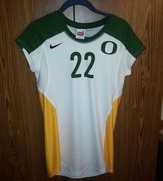 NIKE University of Oregon Ducks Women's M #volleyball jersey #22 #BIAGINI  #Nike #OregonDucks