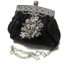 Evening Bags | ... HANDMADE VICTORIAN SWAROVSKI EVENING BAG CLUTCH, BRIDESMAIDS CLUTCH
