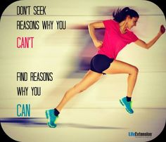 Say Yes I can! #exercise #health #motivation