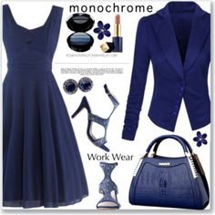 Work Wear :: One Color, Head to Toe