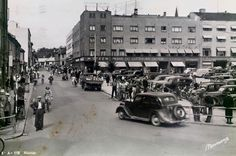 Hedmark fylke Hamar brukt 1955 Utg Normann Norway, Street View, Places, Pictures, Lugares