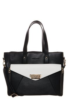 LYDC London Shopping bag - black/white - Zalando.fi
