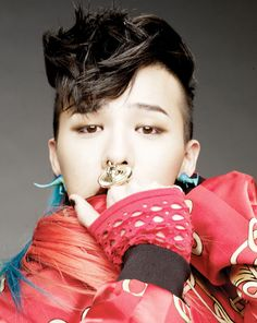 G-Dragon of Big Bang is wearing our #Dino earrings! #bigbang