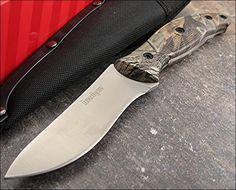 Kershaw RealTree Hardwoods HD Camo Echo Semi Skinner Knife Ken Onion Brand ...
