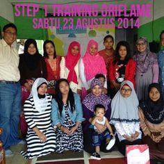 Step One Training di SPO Kutai Kartanegara nurhayati