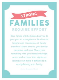 """Come Follow Me YW Lesson Handout """"Why is Family Important?"""" Young Womens August Lesson Printables"""