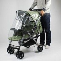 Activity & Gear Rain Cover For Baby Cart Special Wind Proof Dustproof Raincoat Big Cart High Landscape Special Rain Cover 50% OFF
