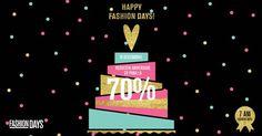 Fashion Days, unul din cele mai mari magazine online de fashion din Romania, partener al platformei CashBack Shopping, sărbătorește 7 ani de activitate,
