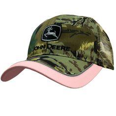 John Deere Ladies Twill Pink Camouflage Cap for sale online Camo Hats, Cowboy Hats, Women's Hats, John Deere Store, John Deere Hats, Hat Stores, Pink Camouflage, Ford Tractors, Hats For Women