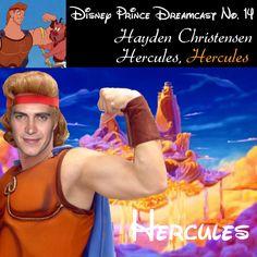 My Disney Prince Dreamcast  Hayden Christensen as Hercules