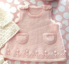 Free knitted baby dress patterns & Baby knitting pattern] Source by piercesharons Baby Knitting Patterns, Toddler Dress Patterns, Knitting For Kids, Baby Patterns, Free Knitting, Knitting Projects, Crochet Patterns, Knitting Ideas, Cloth Patterns