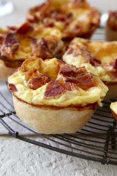 Easy Easter Muffin Tin Breakfast | Brunch Recipes close