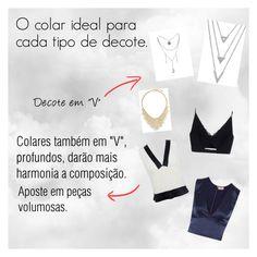 """O colar Ideal para cada tipo de Decote 02"" by jamary-alves on Polyvore featuring moda, Chanel, L'Agence, BERRICLE e Versace"