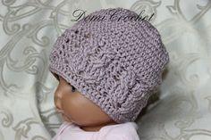 Háčkované topánočky a iné vecičky Crochet Beanie, Crochet Hats, Baby Born, Weaving, Knitting, Gifts, Barbie, Gardening, Decor