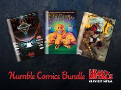 There's still time to get your hands on over $340 worth of Heavy Metal Magazines & comics through Humble Bundle.