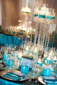Awesome Tiffany Blue Wedding Decorations ❤︎ Wedding planning ideas & inspiration. Wedding dresses, decor, and lots more. #weddingideas #wedding #bridal