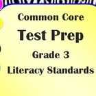 This common core test prep and reading assessment is focused on the Grade 3 common core reading literary standards RL1 through RL10. There are a to...