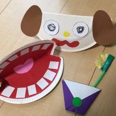 【アプリ投稿】☆虫歯予防デー☆紙皿で歯みがきセット | みんなのタネ | あそびのタネNo.1[ほいくる]保育や子育てに繋がる遊び情報サイト Diy And Crafts, Arts And Crafts, Spring Crafts, Preschool Crafts, Paper Plates, Childcare, Fun Games, Kids Rugs, Ideas