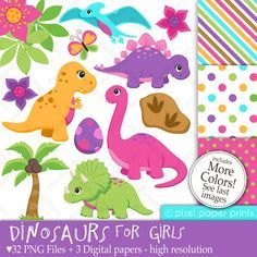 PPP Store - Dinosaurs for Girls