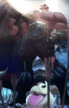 Here is #Braum #LeagueOfLegends