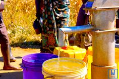 This Friday is special for a few villages in Zambia because they are now enjoying clean, safe water! #cleanwaterforall #W282