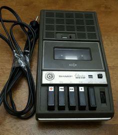 Vintage SHARP Educator Model RD-660AV1 Cassette Tape Player Recorder AC Adaptor #Sharp
