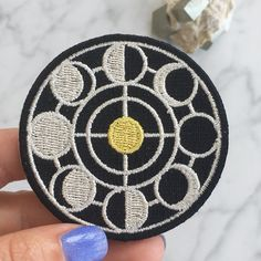Wildflower   Co. - Night Magic - Moon Phases Embroidered Patch, $5.50 (http://www.wildflower.co/night-magic-moon-phases-embroidered-patch/)