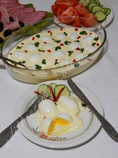 Pickles, Camembert Cheese, Appetizers, Cooking Recipes, Pudding, Food, Drinks, Party, Easy Meals