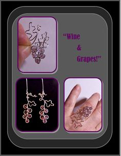 Holiday gift ideaswine lovers giftwine by ArtistiCreationsRose