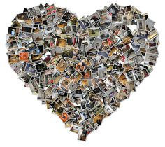 Create photo collages with different shapes with the Shape Collage tool. Heart Shaped Photo Collage, Heart Collage, Heart Art, Shape Collage, Create Collage, Collage Art, Online Photo Collage Maker, Facebook Pic, Retirement Gifts