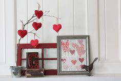 Love the tree with the hearts hanging from it! Gotta try that.