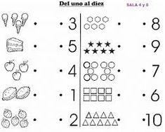 Resultado de imagen para cuenta los elementos y escribe el numero