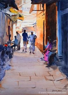 Art Of Watercolor: Some Watercolor  Milind Mulick