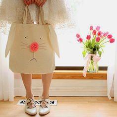 Un tote bag lapin - Marie Claire Idées