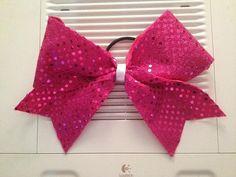 Handmade Cheerleading Bows by LolaCheerBows on Etsy, $8.00